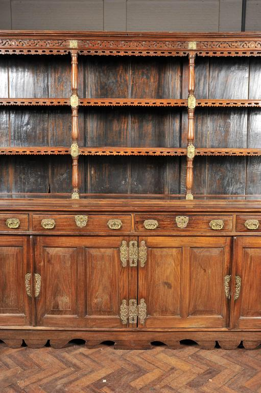 Carved 19th Century Ceylonese Padouk Wood Dresser For Sale