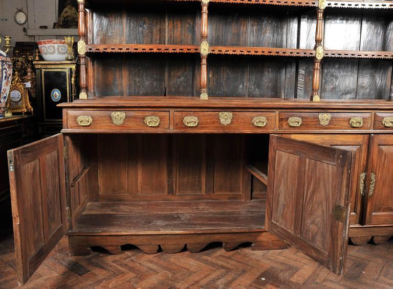 19th Century Ceylonese Padouk Wood Dresser For Sale 4