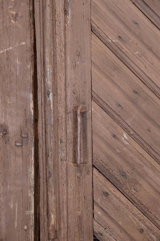 Pair Of Early 19th Century Pine Barn Doors From France At
