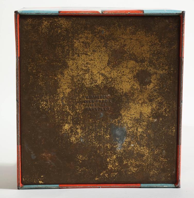 Martel Schwichtenberg German Bauhaus Tin Box For Sale 3