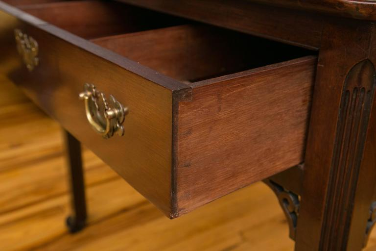 Georgian Mahogany Architects Table For Sale 1