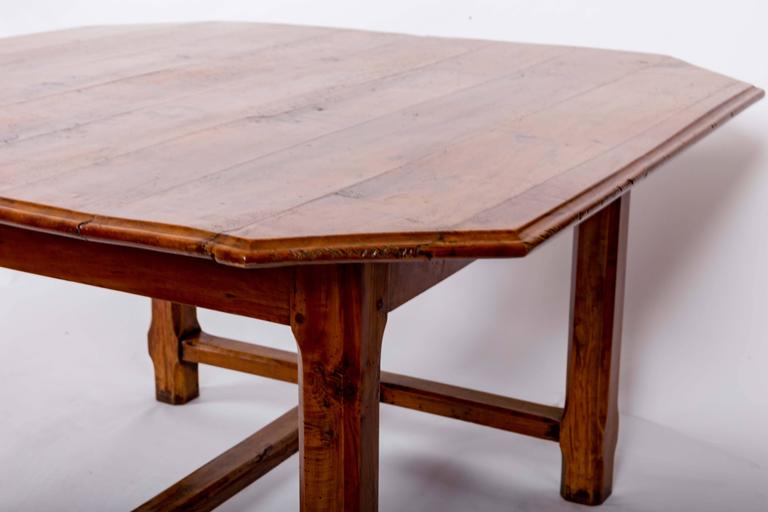 Mid-19th Century Early 19th Century Cherrywood Dining Table, France, circa 1840 For Sale