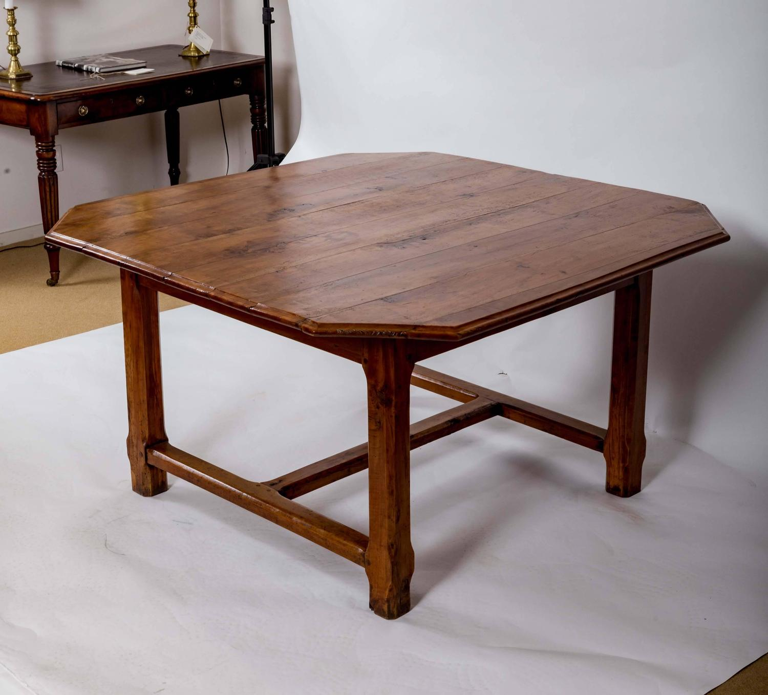 Early 19th Century Cherrywood Dining Table France Circa