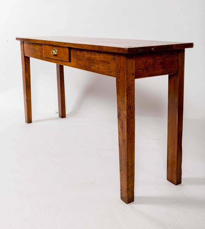 19th Century Cherrywood Server, France, circa 1890 In Good Condition For Sale In East Hampton, NY