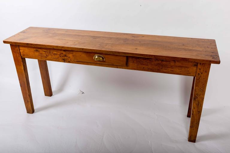 19th Century Cherrywood Server, France, circa 1890 For Sale 1