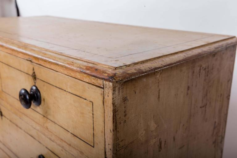 Early 19th Century Painted Chest of Drawers, England, circa 1840 For Sale 3