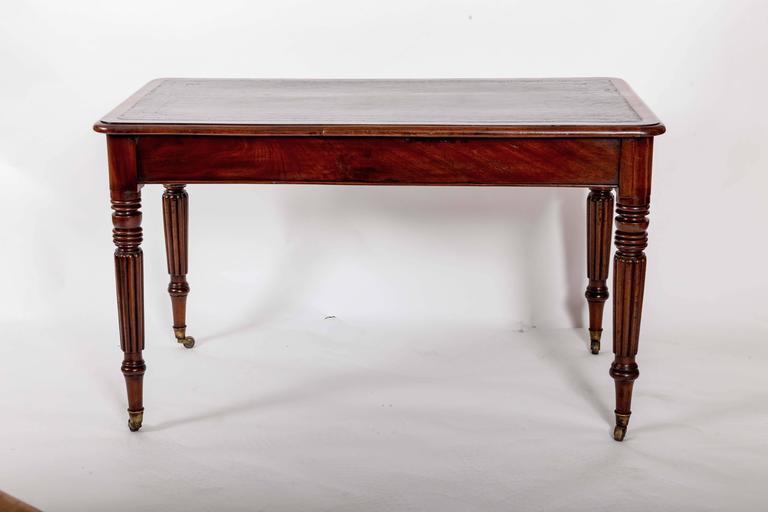 Early 19th Century Mahogany Writing Table, England, circa 1840 8