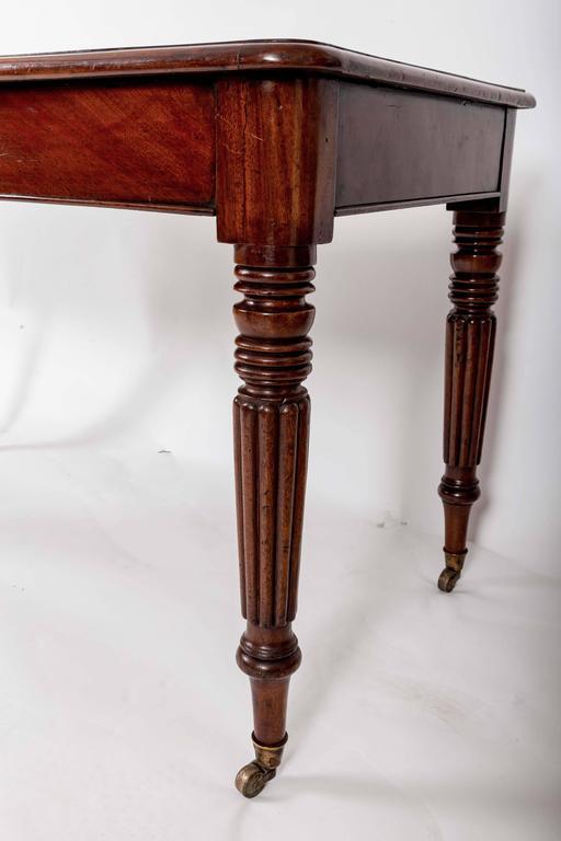 Early 19th Century Mahogany Writing Table, England, circa 1840 9