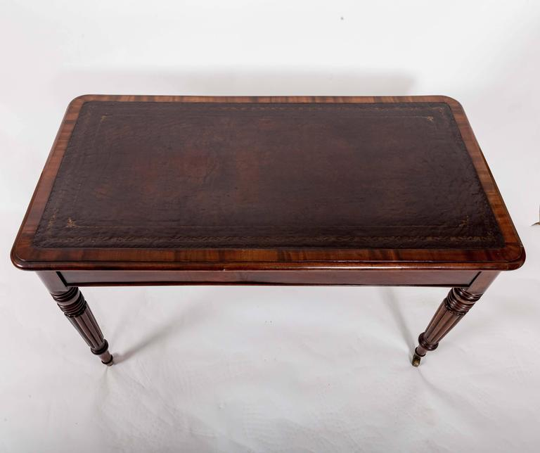 Early 19th Century Mahogany Writing Table, England, circa 1840 10