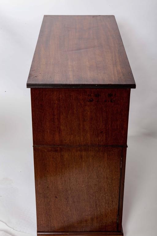 Early 19th Century Mahogany Storage Cabinet, England, circa 1820 10