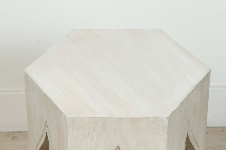 Whitewashed Tabouret Table by Lawson-Fenning 2
