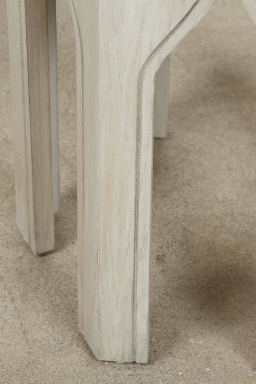 Whitewashed Tabouret Table by Lawson-Fenning 3