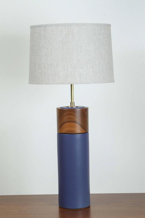 Pair of Tall Pipa Lamps by Stone and Sawyer 2