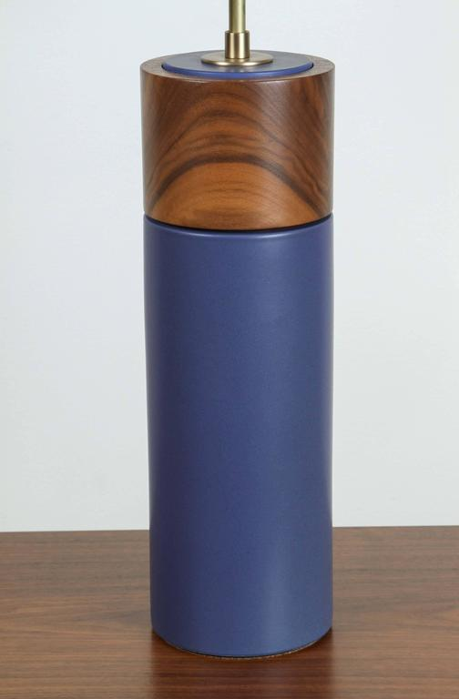 Pair of Tall Pipa Lamps by Stone and Sawyer 4