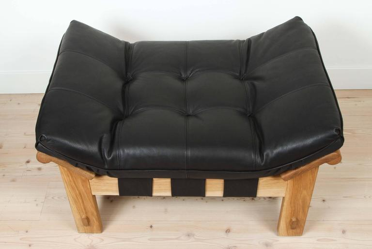 Contemporary Ojai Ottoman by Lawon-Fenning For Sale