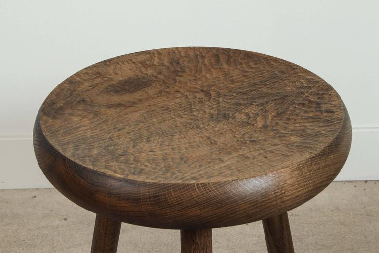 Dibbet Stool by De Jong & Co. In Excellent Condition For Sale In Los Angeles, CA