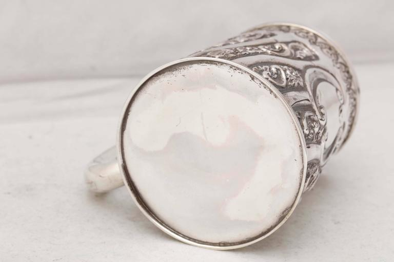 Victorian Sterling Silver Baby Cup For Sale 3