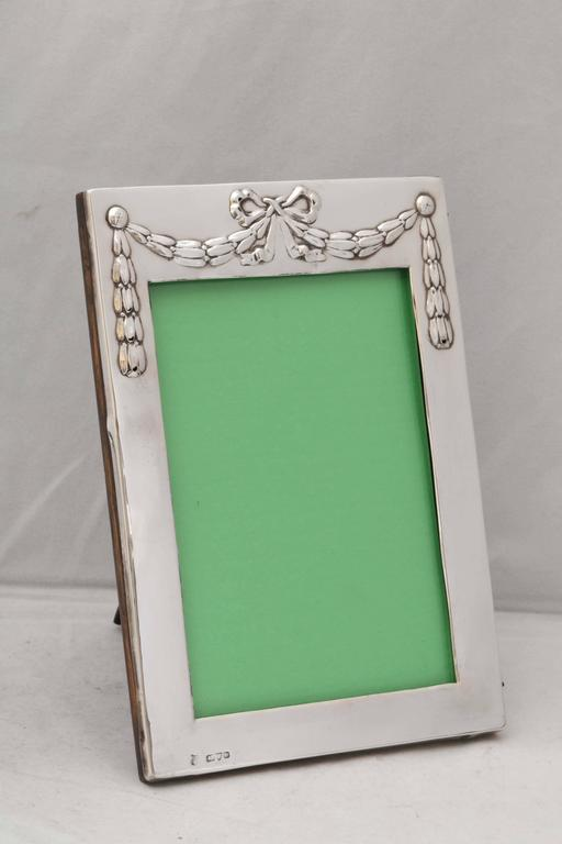 Edwardian Sterling Silver Picture Frame 2
