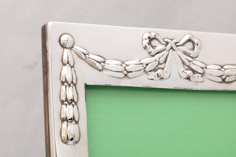 Edwardian Sterling Silver Picture Frame 4