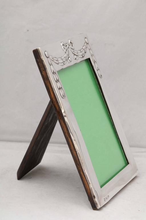 Edwardian Sterling Silver Picture Frame 6