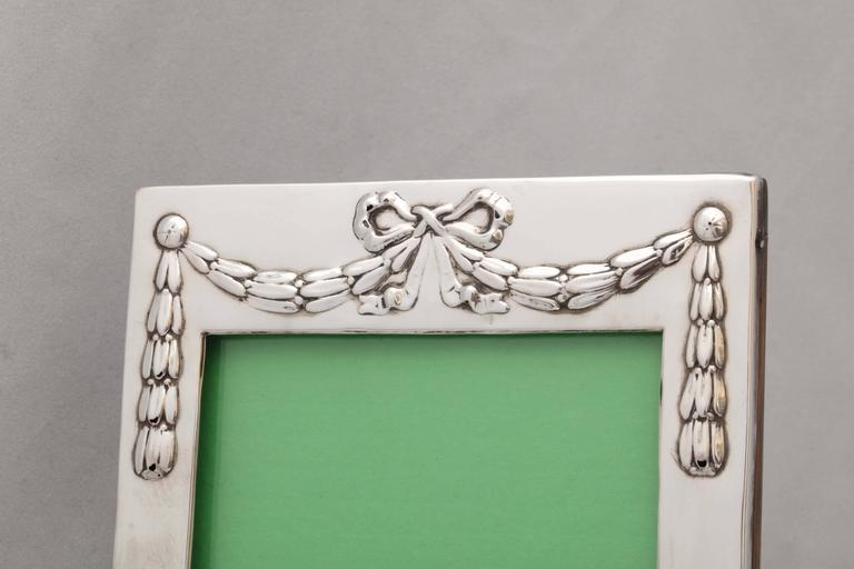 Edwardian Sterling Silver Picture Frame 8