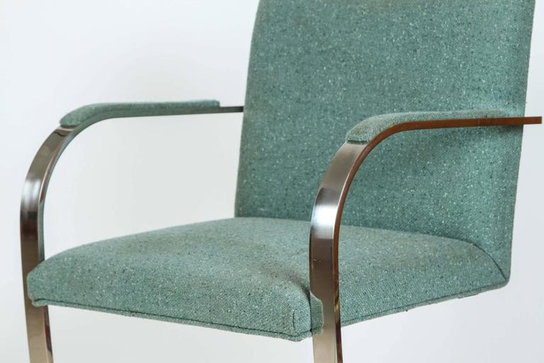 Mies van der Rohe Pair of Brno Chairs for Knoll 2