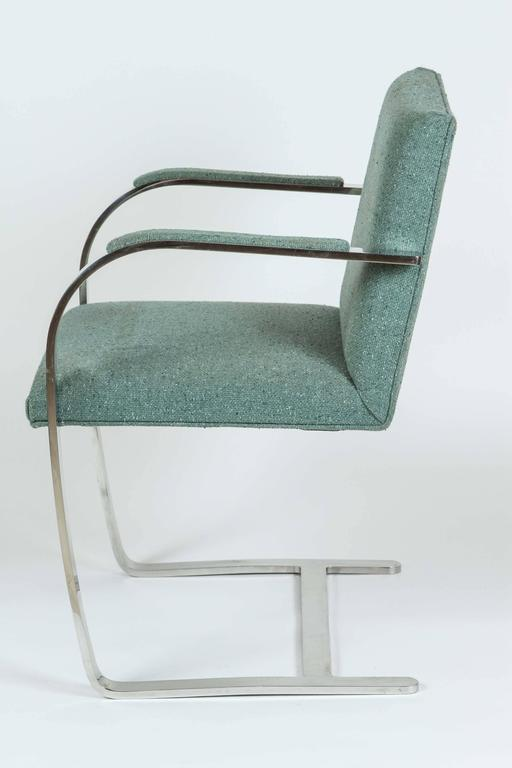 Mies van der Rohe Pair of Brno Chairs for Knoll 4
