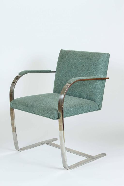 Mies van der Rohe Pair of Brno Chairs for Knoll 9