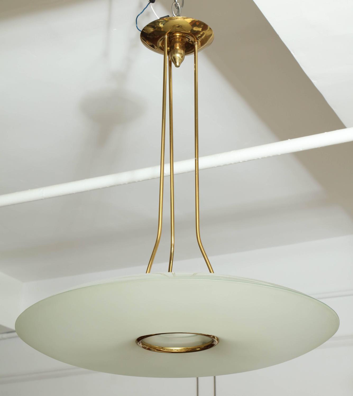fontana arte chandelier made in milan for sale at 1stdibs. Black Bedroom Furniture Sets. Home Design Ideas