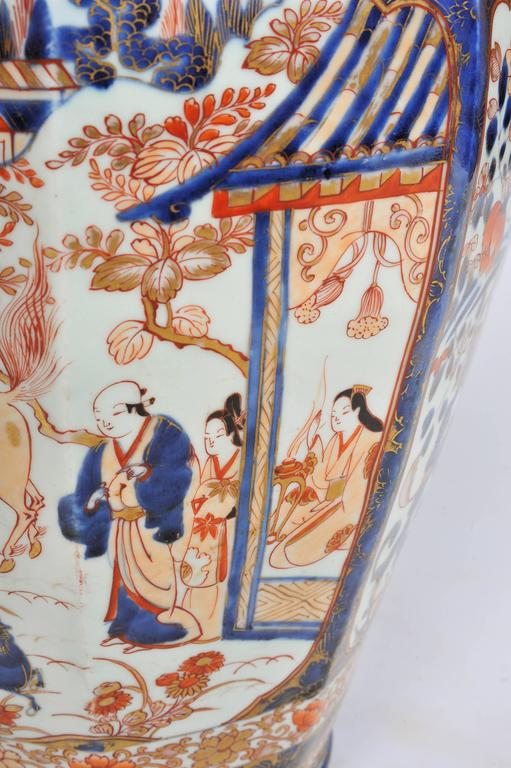Large 19th Century Japanese Imari Vase For Sale 1