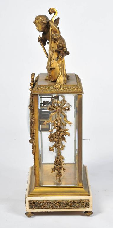 French 19th Century Louis XVI style,  Mantel Clock 17