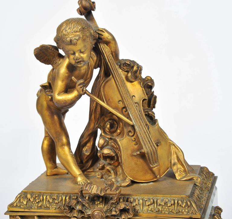 19th Century Louis XVI style,  Mantel Clock 17
