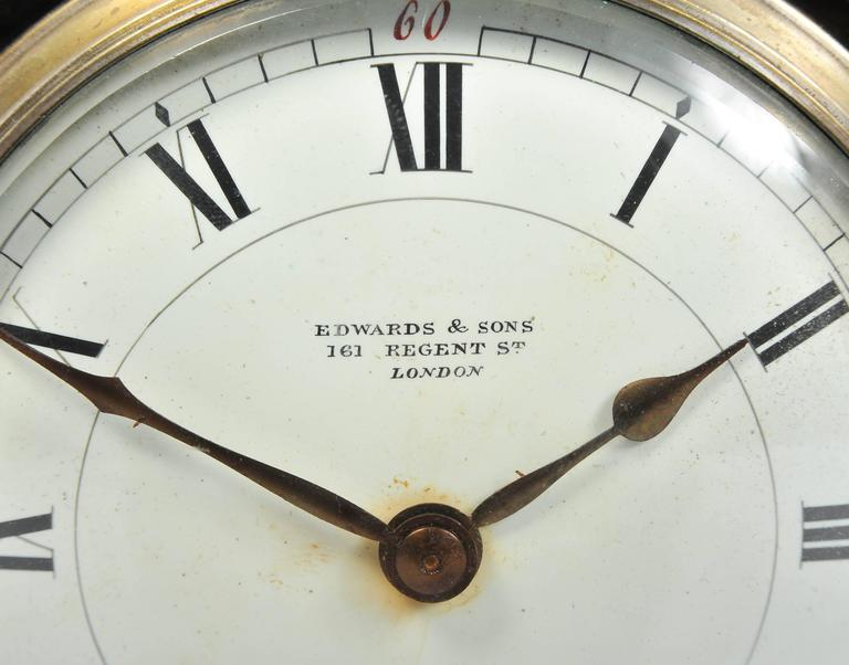 Silver and Tortoiseshell Mantel Clock For Sale 3