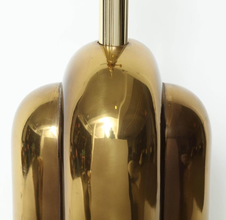 Modernist Brass Lamps by Westwood Industries 6