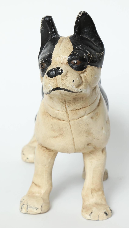 Cast Iron Boston Terrier Door Stop For Sale At 1stdibs