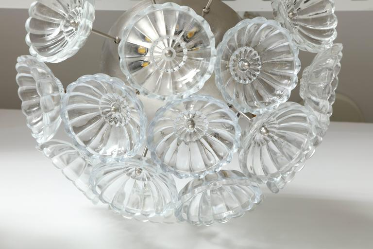 Flower Glass Sputnik Flush Mounts, Sconces For Sale 1