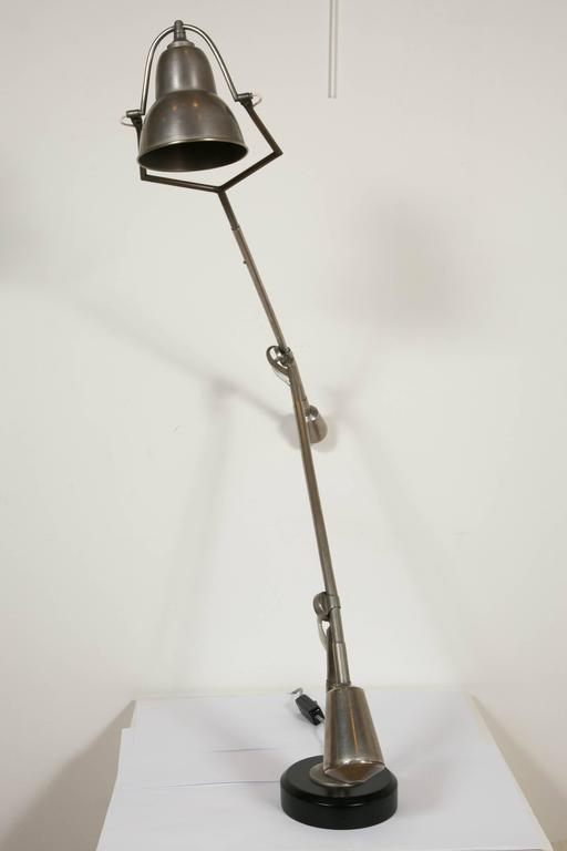 Iconic Modernist Table Lamp by E-W Buquet, France, Art Deco, 1930s In Good Condition For Sale In Paris, FR
