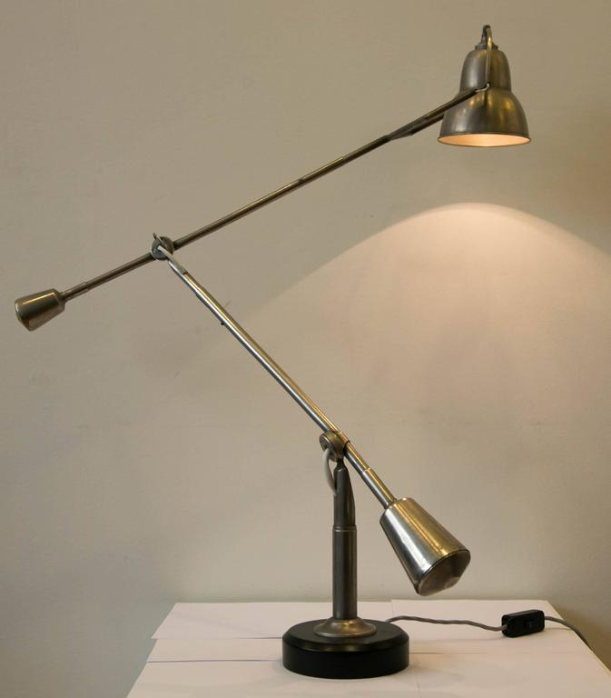 Iconic modernist table lamp by e w buquet france art for Iconic design lamps
