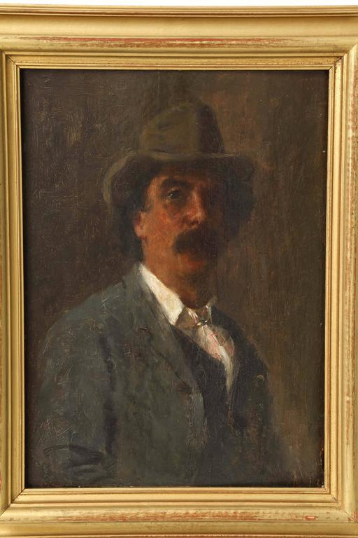 Portrait of Puccini by Arthur Meade 2