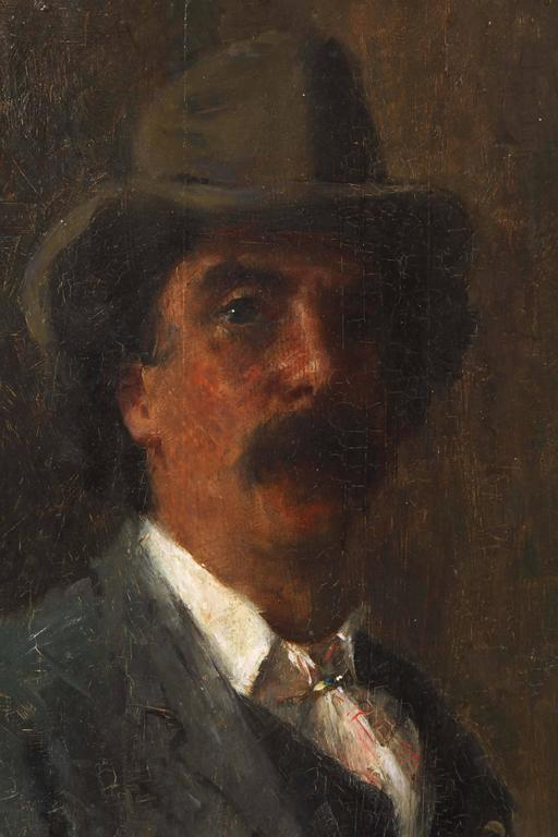 Portrait of Puccini by Arthur Meade 4
