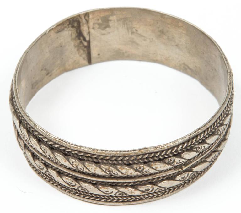 20th Century Moroccan Berber Tribal Bracelet For Sale