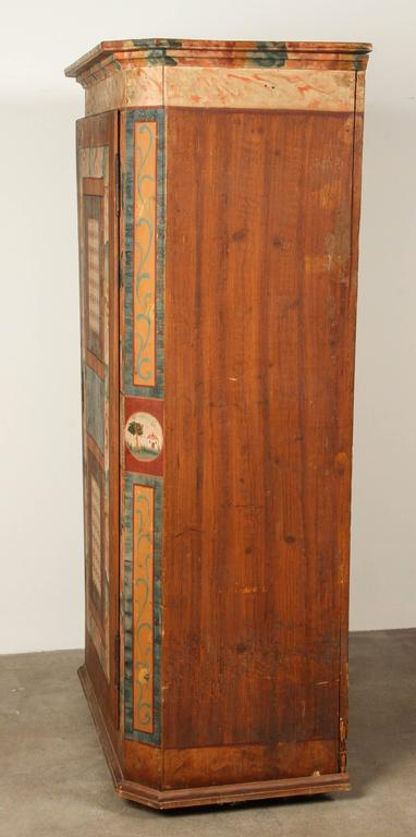 Folk Style Hand-Painted Cabinet  10