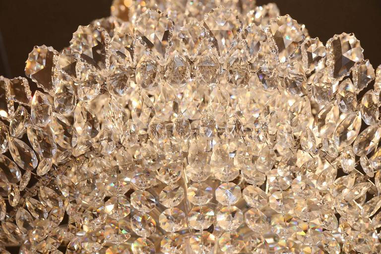 Schonbek Crystal Chandelier From The Trilliane Collection