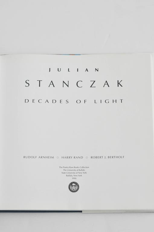 1990 Monograph on Op-Artist Julian Stanczak 2