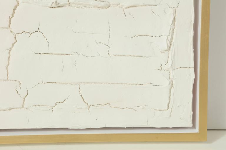 Peter Buchman Untitled No. 3, Plaster Series on Wood with Frame, 2016 For Sale 1