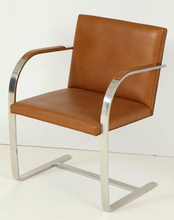Pair of Mies van der Rohe Brno Chairs by Knoll, circa 1960s 2
