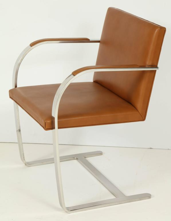 Pair of Mies van der Rohe Brno Chairs by Knoll, circa 1960s 4