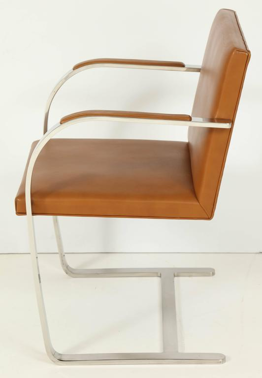 Pair of Mies van der Rohe Brno Chairs by Knoll, circa 1960s 5