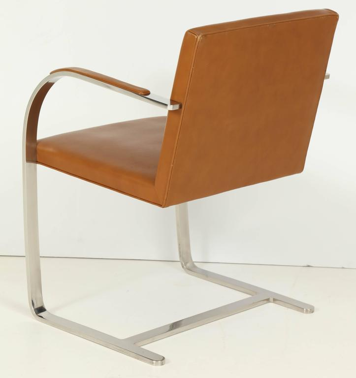 Pair of Mies van der Rohe Brno Chairs by Knoll, circa 1960s 7