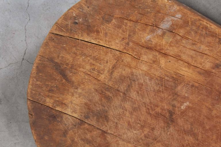 Thick Rustic Paddle Shaped Trays For Sale 1